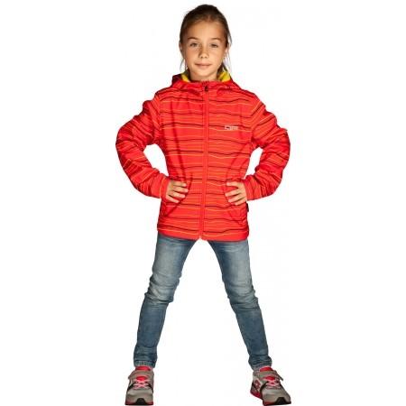 Dětská softshellová bunda - Alpine Pro ZUZI - 2