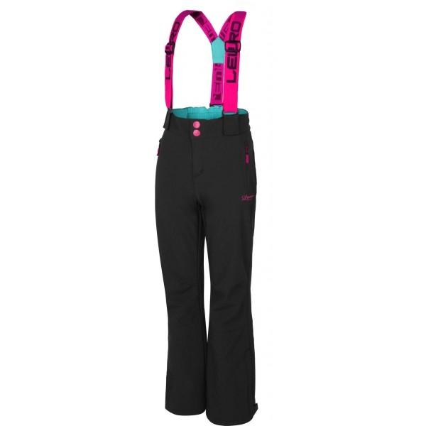 Lewro DEX 116-134 - Dívčí lyžařské softshellové kalhoty