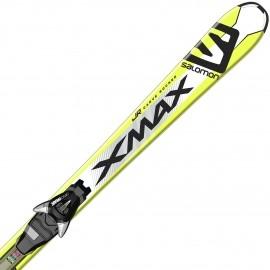 Salomon E X-MAX JR M + E EZY7 B80 - Juniorské sjezdové lyže