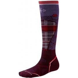 Smartwool WOMENS PHD SKI MEDIUM PATTERN - Dámské lyžařské ponožky
