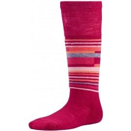 Smartwool KIDS WINTERSPORT STRIPE - Dětské zimní ponožky