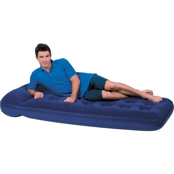 Bestway EASY INFLATE FLOCKED AIR - Nafukovací postel - jednolůžko - Bestway