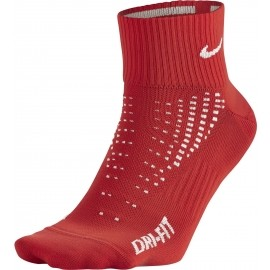 Nike DRI-FIT LIGHTWEIGHT QUARTER RED