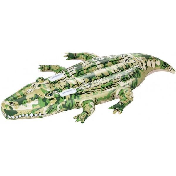 Bestway CAMO CROCODILE RIDER - Nafukovací krokodýl