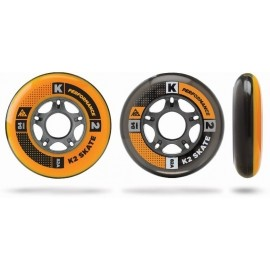 K2 WHEEL 8-PACK 84-82A + ILQ7 SPACER - Sada in-line ložisek a koleček