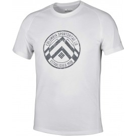 Columbia MOUNTAIN TECH LOGO SS TEE