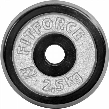 Nakládací kotouč - Fitforce NAKLÁDACÍ KOTOUČ 2,5KG CHROM