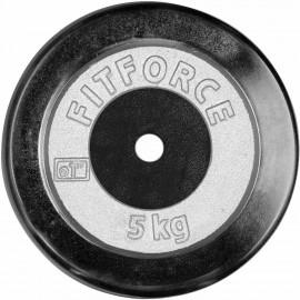 Fitforce NAKLÁDACÍ KOTOUČ 5KG CHROM - Nakládací kotouč
