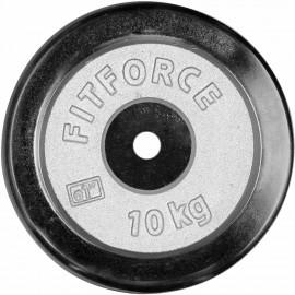 Fitforce NAKLÁDACÍ KOTOUČ 10KG CHROM