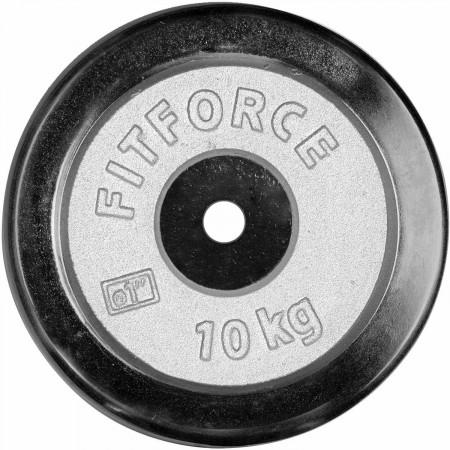 Nakládací kotouč - Fitforce NAKLÁDACÍ KOTOUČ 10KG CHROM