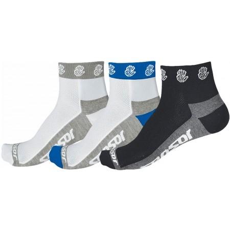 RUČIČKA 3-PACK - Cyklistické ponožky - Sensor RUČIČKA 3-PACK
