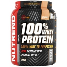 Nutrend 100 WHEY PROTEIN 900G JAHODA - Proteinový nápoj