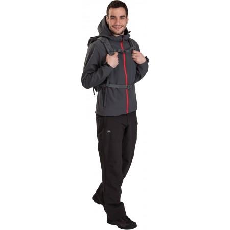 TRAMAN SOFTSHELL PANTS LIGHT - Pánské outdoorové softshellové kalhoty - Hi-Tec TRAMAN SOFTSHELL PANTS LIGHT - 7
