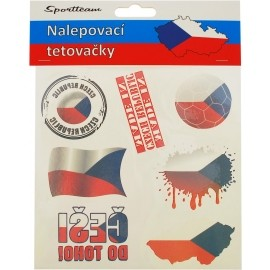 SPORT TEAM TETOVACÍ OBTISKY ČR 3