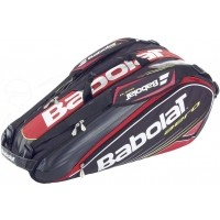 Babolat AERO RACKET HOLDER RED X9 - Tenisový bag