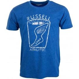 Russell Athletic CREW NECK TEE DISTTRESSED - Pánské tričko