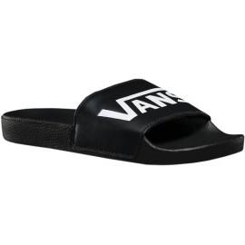 Vans M SLIDE-ON BLACK - Pánské módní pantofle