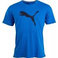 Puma PT ESS DRY BRANDED TEE - Pánské sportovní tričko