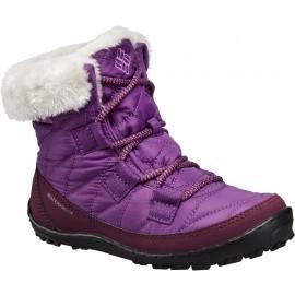 Columbia YOUTH MINX SHORTY OMNI-HEAT WATERPROOF - Dětská zimní obuv