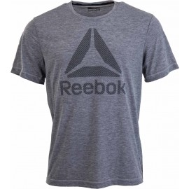 Reebok WORKOUT READY BIG LOGO SUPREMIUM TEE - Pánské triko