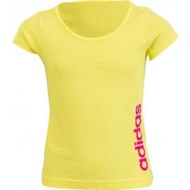 adidas ESSENTIALS LINEAR TEE - Dívčí tričko