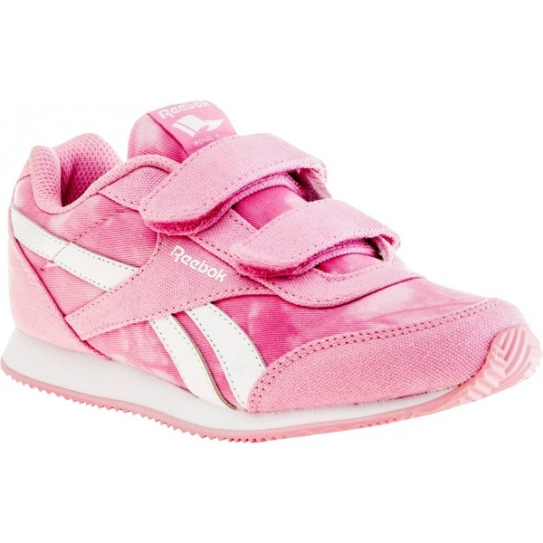 Reebok ROYAL CLJOG 2 GR 2V - Dětská volnočasová obuv