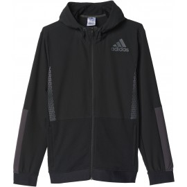 adidas WORKOUT FULL ZIP HOOD