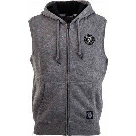 Russell Athletic ZIP THROUGH GILET WITH TWILL ROSETTE BADGE