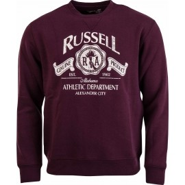 Russell Athletic CREW NECK SWEAT WITH RUSSELL DISTRESSED PRINT