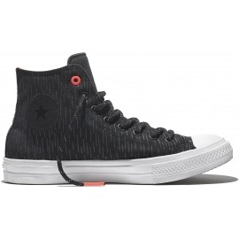 Converse CHUCK TAYLOR ALL STAR II SHIELD CANVAS Black/Reflective/Lava