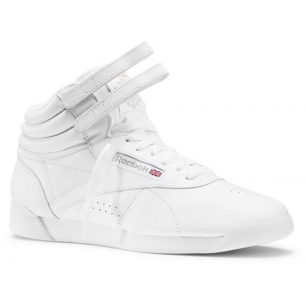 Reebok FREESTYLE HI - Unisexová obuv na aerobic 0eaaadf97b9