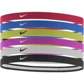 Nike SWOOSH SPORT HEADBANDS 6PK 2.0 - Sportovní čelenky do vlasů