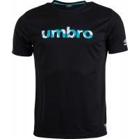 Umbro PRO TRAINING REFLECTIVE WORD TEE - Pánské sportovní triko