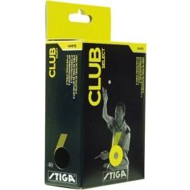 Stiga CLUB SELECT WHITE 6 PACK