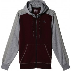 adidas SPORT ESSENTIALS 3S FULL ZIP HOODIE FLEECE