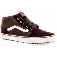 Vans M CHAPMAN MID MTE Black/Bungee - Pánská zimní obuv