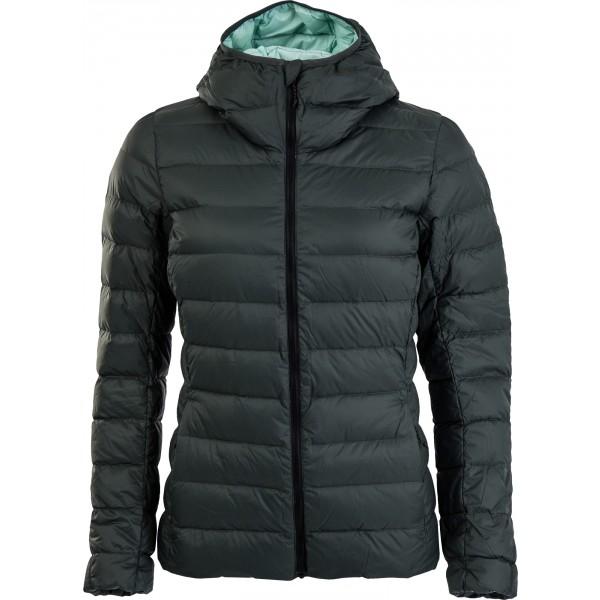 adidas W LIGHT DOWN HOODED JACKET - Dámská outdoorová bunda