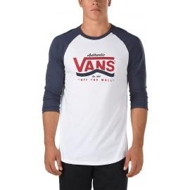 Vans M AUTHENTIC STRIPE R WHITE-NAVY