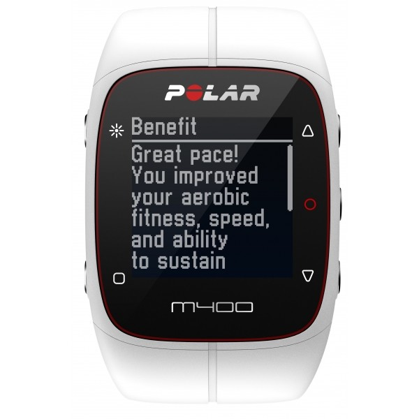 8a420c225 POLAR M400 HR - Sportovní hodinky s GPS a měřením tepové frekvence
