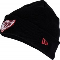 New Era SMU NHL CUFF KNIT DETRED - Klubová zimní čepice