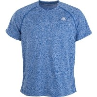 adidas BASE HEATHER TEE - Pánské tričko