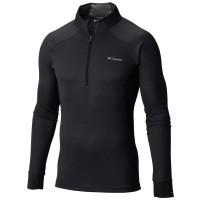 Columbia HEAVYWEIGHT LS HZ M - Pánské funkční termo triko s dlouhým rukávem, 1/2 zipem a zvýšeným límcem