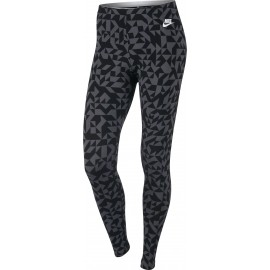 Nike NSW LGGNG CLUB TANGRAMS - Dámské legíny