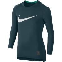 Nike COOLHBR COMP LS YTH - Chlapecké kompresní triko