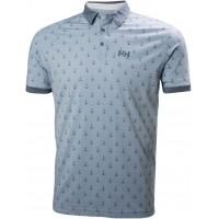 Helly Hansen FJORD POLO - Pánské funkční tričko