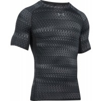 Under Armour UA HEATGEAR ARMOUT PRINTER  SHORT SLEEVE - Pánské kompresní triko