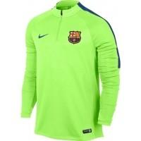 Nike FCB M DRIL TOP SQD - Pánská fotbalová mikina