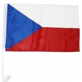 SPORT TEAM Fan vlajka na auto CZ