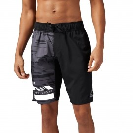 Reebok WORKOUT READY BOARD SHORT GRAPHIC