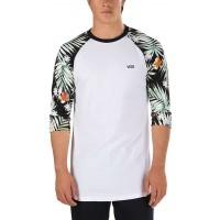 Vans DECAY PALM RAGLAN - Pánské tričko